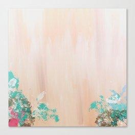 Coral Motion Canvas Print