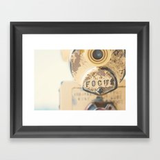 fo·cus ... Framed Art Print