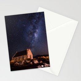 Lake Tekapo, New Zealand Night Sky Stationery Cards