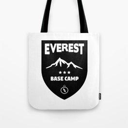 Mount Everst Base Camp Tote Bag