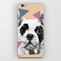frenchie iPhone & iPod Skins featuring Frenchie by Esco
