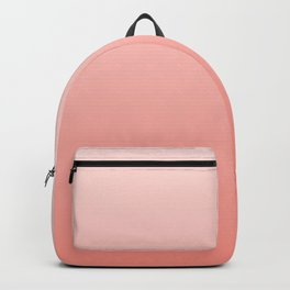Color Gradient -color of the year 2019- living coral. Backpack