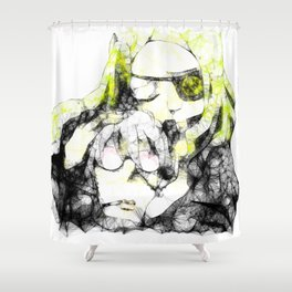 Marie and Stein Shower Curtain