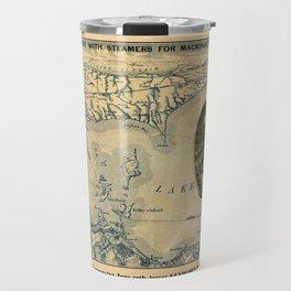 Map Of Lake Erie 1876 Travel Mug