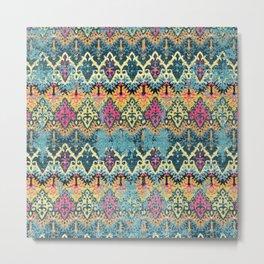 Multicolore Carpet Design Metal Print