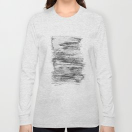 Texture#21 Dry brush Long Sleeve T-shirt