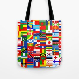 Flag Montage Tote Bag