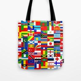 Flag Montage Tote Bag