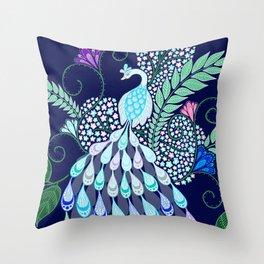 Moonlark Garden Throw Pillow