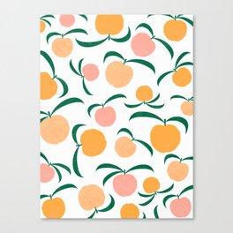Peach Me Canvas Print