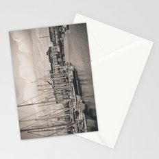 Casino at the harbor Stationery Cards