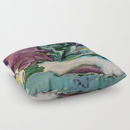 Cool Colors Floor Pillow