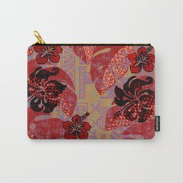 On Fire Kona Tropical Floral Carry-All Pouch