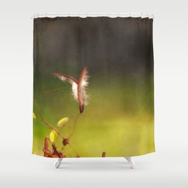 Dipladenia Abstraction Shower Curtain