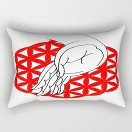 varada mudra Rectangular Pillow