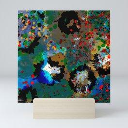 Iris Glitter Mini Art Print