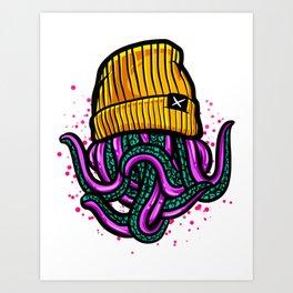 octo swag Art Print