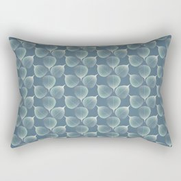The Silver Breath of Winter Rectangular Pillow