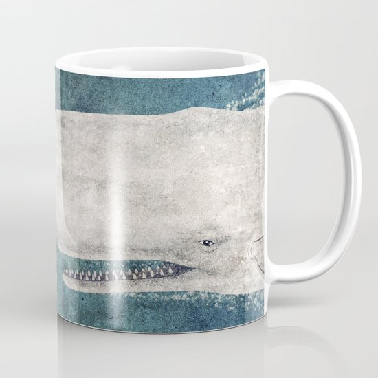 The Whale - vintage  Mug