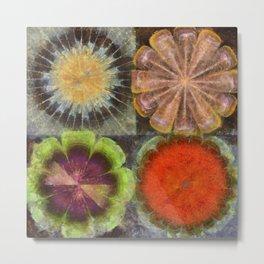 Uniteable Formation Flower  ID:16165-084538-89880 Metal Print