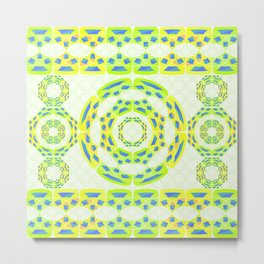 Geometric abstract composition Metal Print