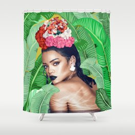 Rihanna naked Shower Curtain