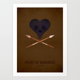 Heart of Darkness Art Print