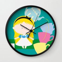 Alice In Wonderland_01 Wall Clock