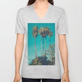 A Few Turquoise Palms Unisex V-Neck