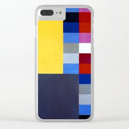 Sophie Taeuber Arp Vertical Horizontal Composition Clear iPhone Case