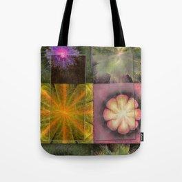 Referenced Tissue Flowers  ID:16165-142303-03261 Tote Bag