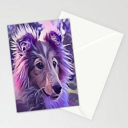 Shetland Sheepdog Puppy Stationery Cards