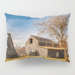 Welsh Quarry Buildings Pillow Sham