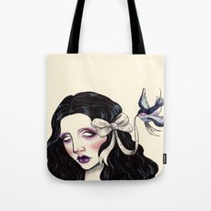 A little bird told me  Tote Bag