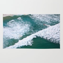 With Waves Rug
