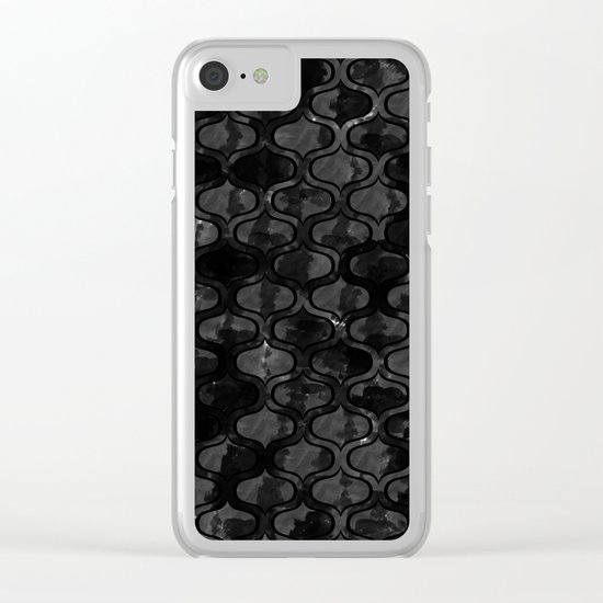 Abstract 47 Clear iPhone Case