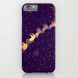 I dream of Santa Claus | Christmas Vision iPhone Case