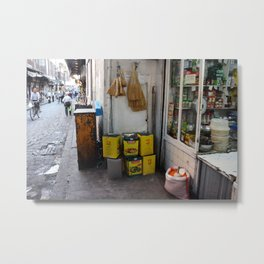 Streets of Damascus Metal Print