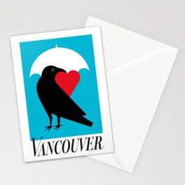 Vancouver's Canuck the Crow Stationery Cards