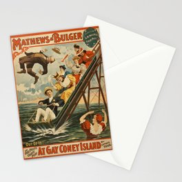 Vintage poster - Coney Island Stationery Cards