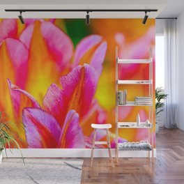 Brilliant Tulip Flowers Wall Mural