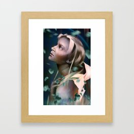 Woman Portrait 8 Framed Art Print