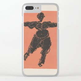 Arms Length Clear iPhone Case