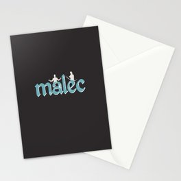 Malec | Shadowhunters Stationery Cards