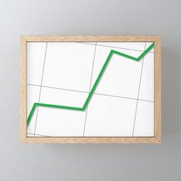 Statistic Up Framed Mini Art Print