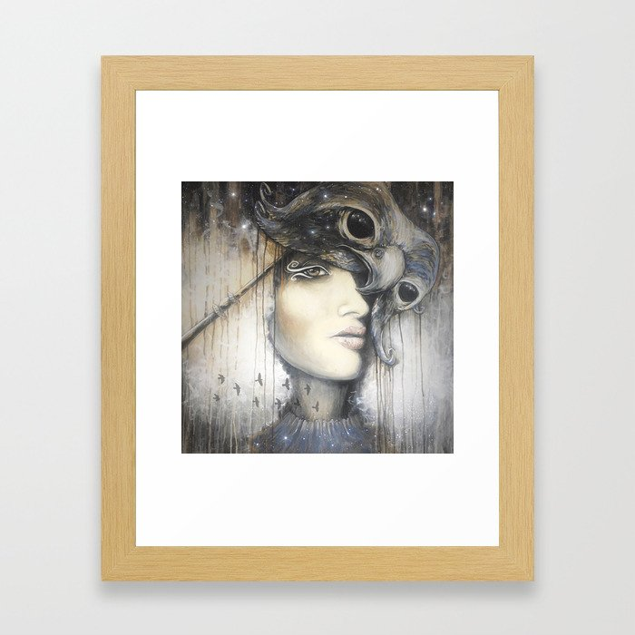 Waiting in the Wings Framed Art Print