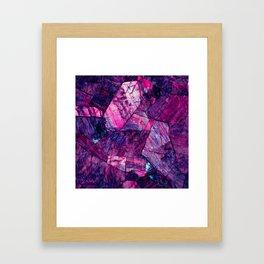 Labradorite Purple Framed Art Print