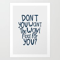 darren criss Art Prints featuring Darren Criss - Don't You? by Jessica