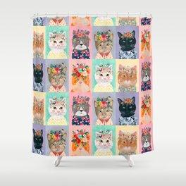 Cat land Shower Curtain