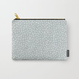 SILVER STARS CONFETTI Carry-All Pouch